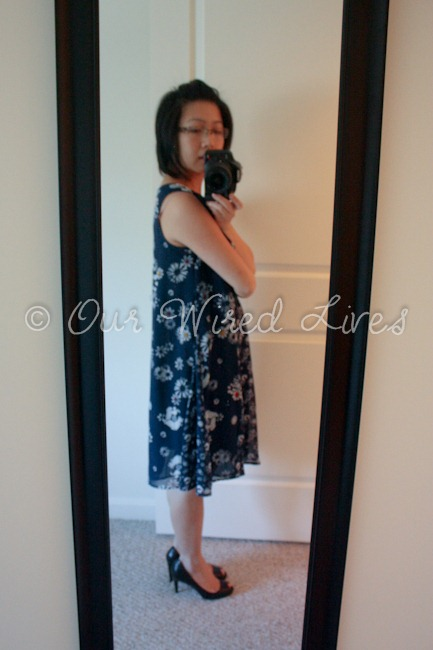 Jason Wu Target Navy Floral Dress 5